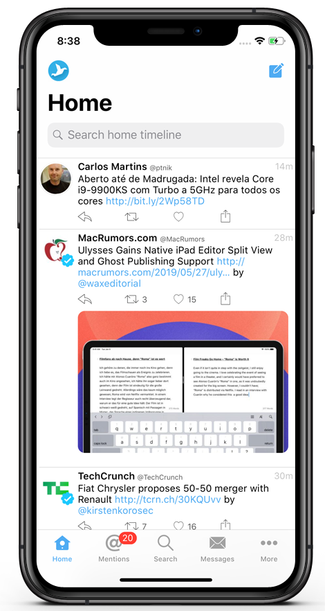 Tweetings | Powerful Twitter client for iPhone, iPad